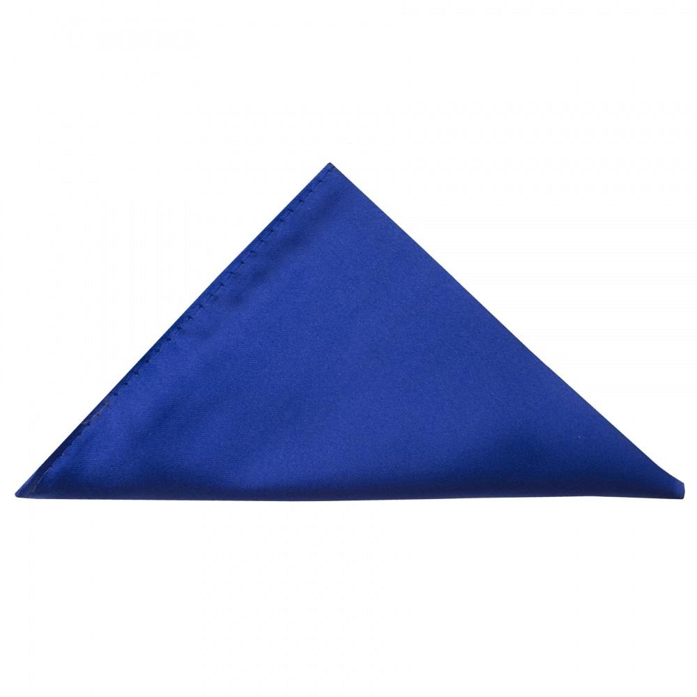 7bc59a1ab5012 Royal Blue Satin Pocket Square   Mens pocket Square   Handkerchief