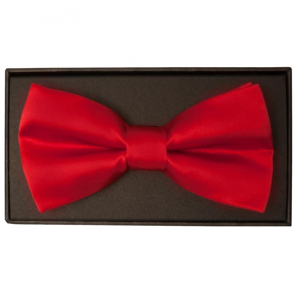b82e28b55039 Plain Scarlet Red Mens Bow Tie | Bow Tie | Dickie Bow TiesRus