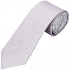 Lilac Self Floral Textured Silk Classic Men's Tie