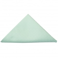 Mint Green Neat Pocket Square