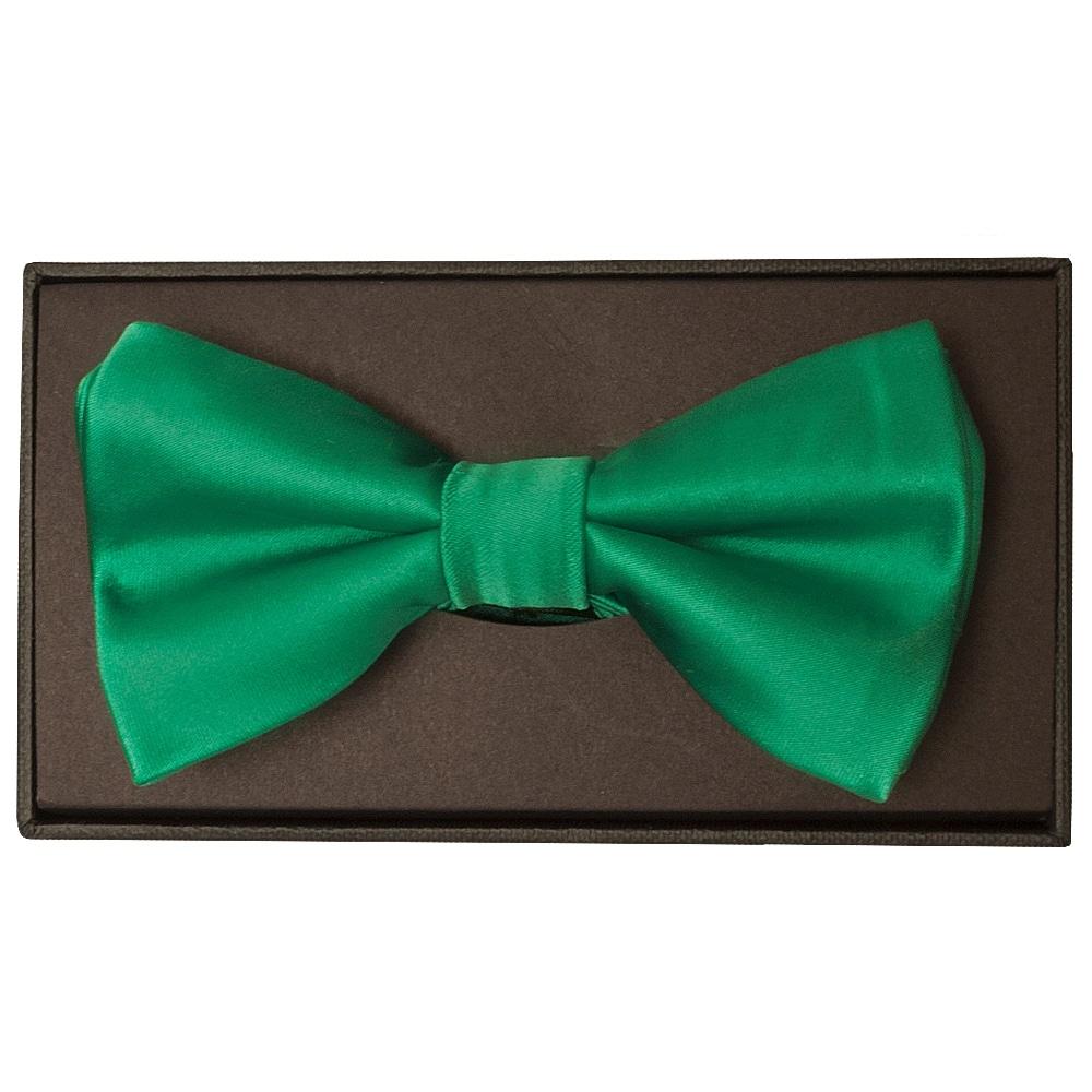 Mens Emerald Green Bow Tie