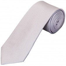 Plain Lilac Textured Silk Classic Men's Tie