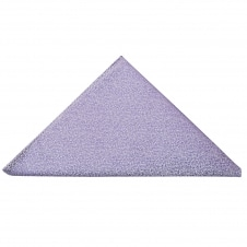 Plain Purple Textured Silk Pocket Square