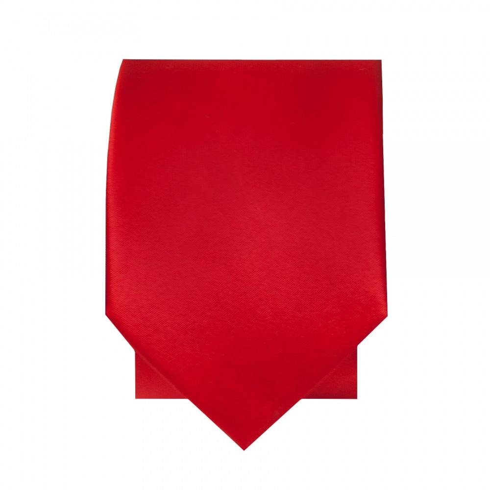 983bed538a65d Scarlet Red Satin Tie and Handkerchief Set|Skinny Tie Handkerchief set