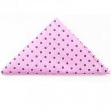Pink Spot Design Pocket Square